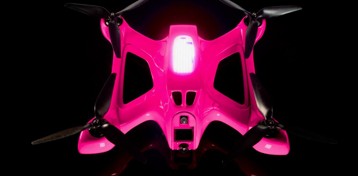 The Magenta 5G Drone is powered by a 5S lithium-polymer battery
