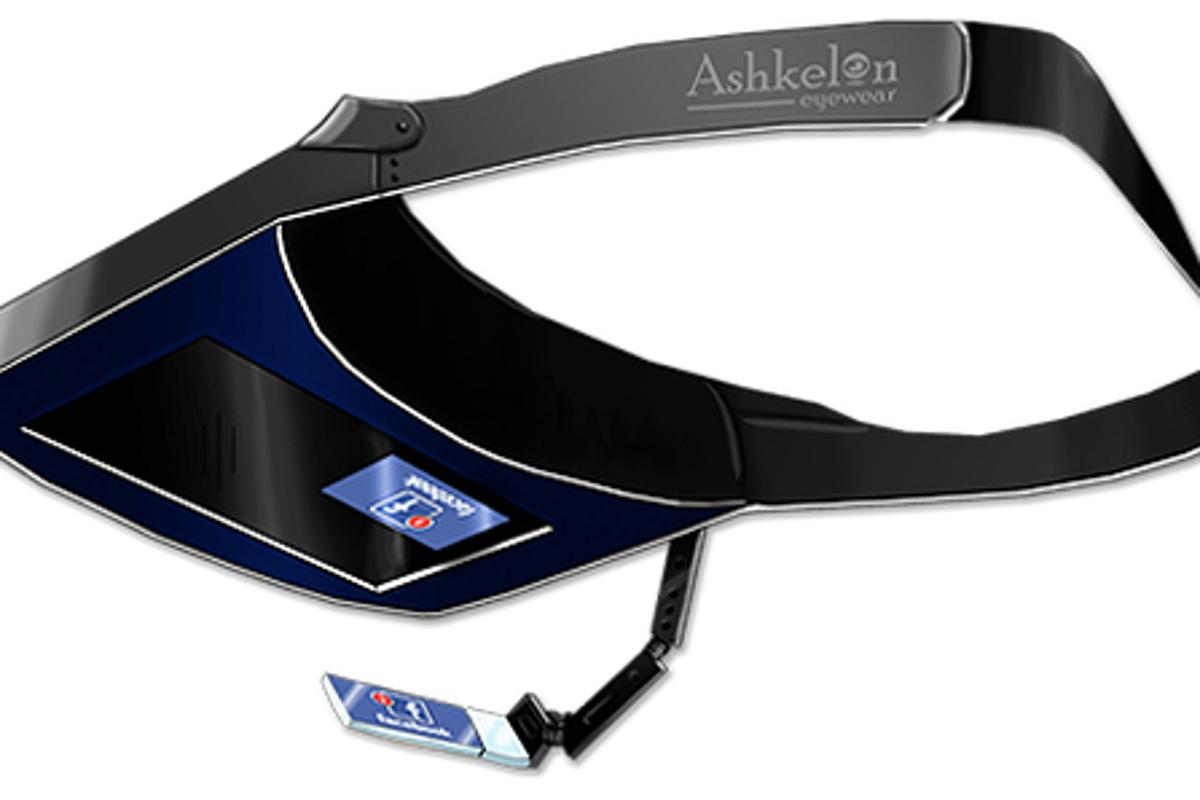 The Ashkelon Visor is a budget HUD screen that leverages the power of your smartphone