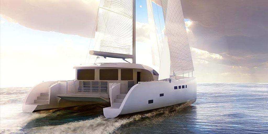 CAD image of Tag 60 under sail