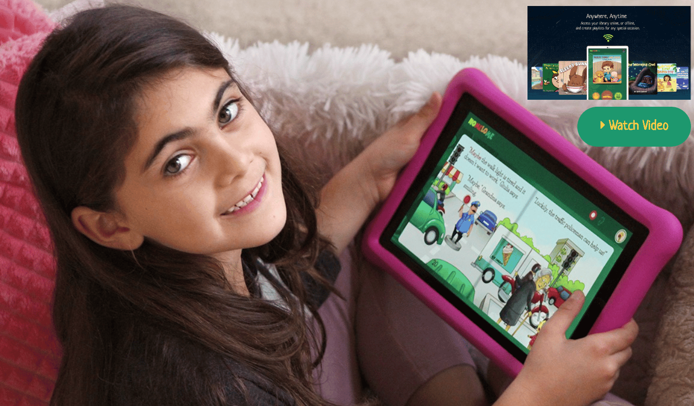 NoMeLoMeis a digital library you can download to your phone or tablet that is absolutely LOADED with books for children of all ages and reading levels
