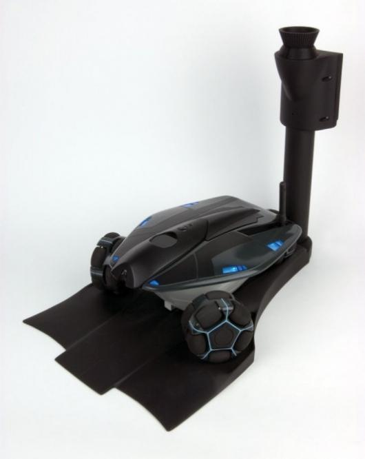 Rovio features self-docking capabilities