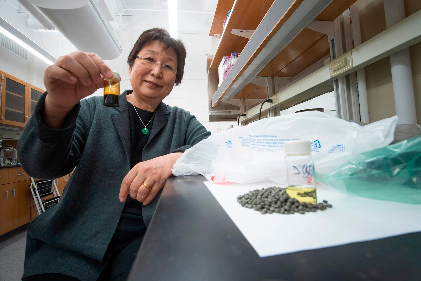 Chemical engineer Linda Wang led a research team at Purdue University in coming up with a new way to convert a common plastic into oil, opening up some exciting possibilities
