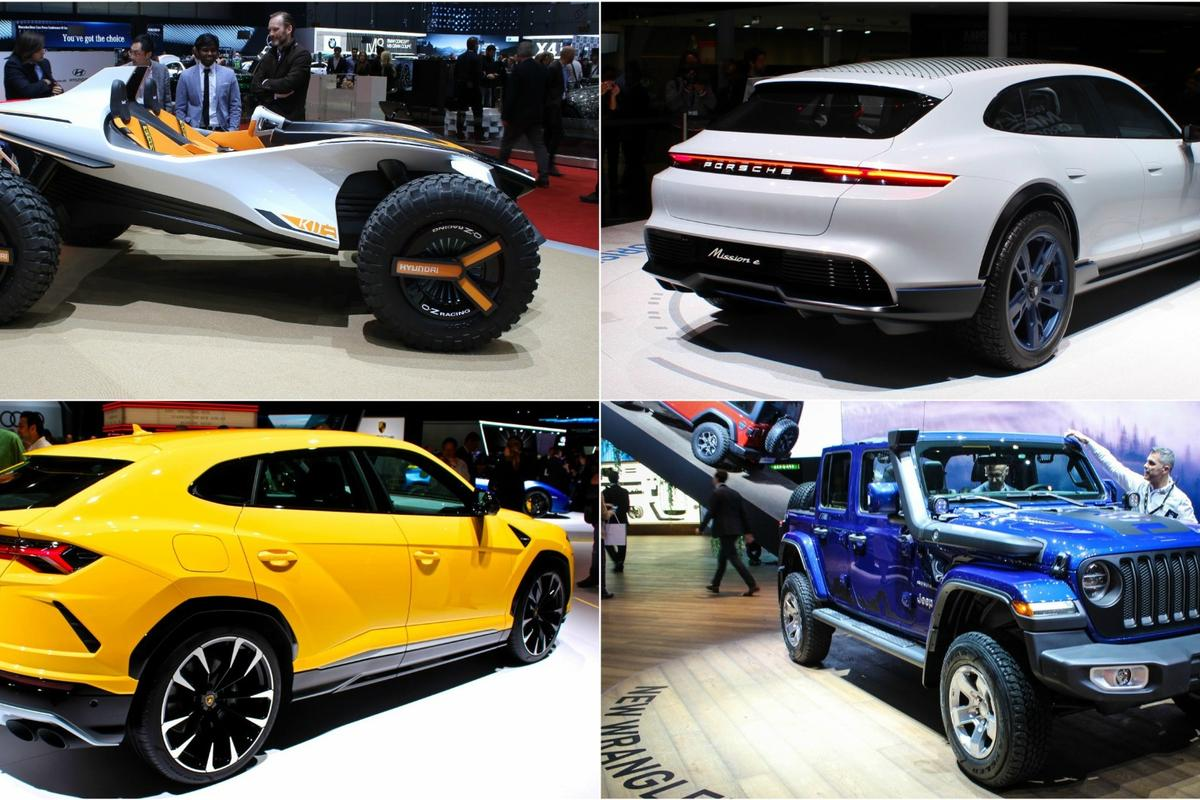 There are plenty of adventurous buggies, wagons, SUVs and more at the 2018 Geneva Motor Show
