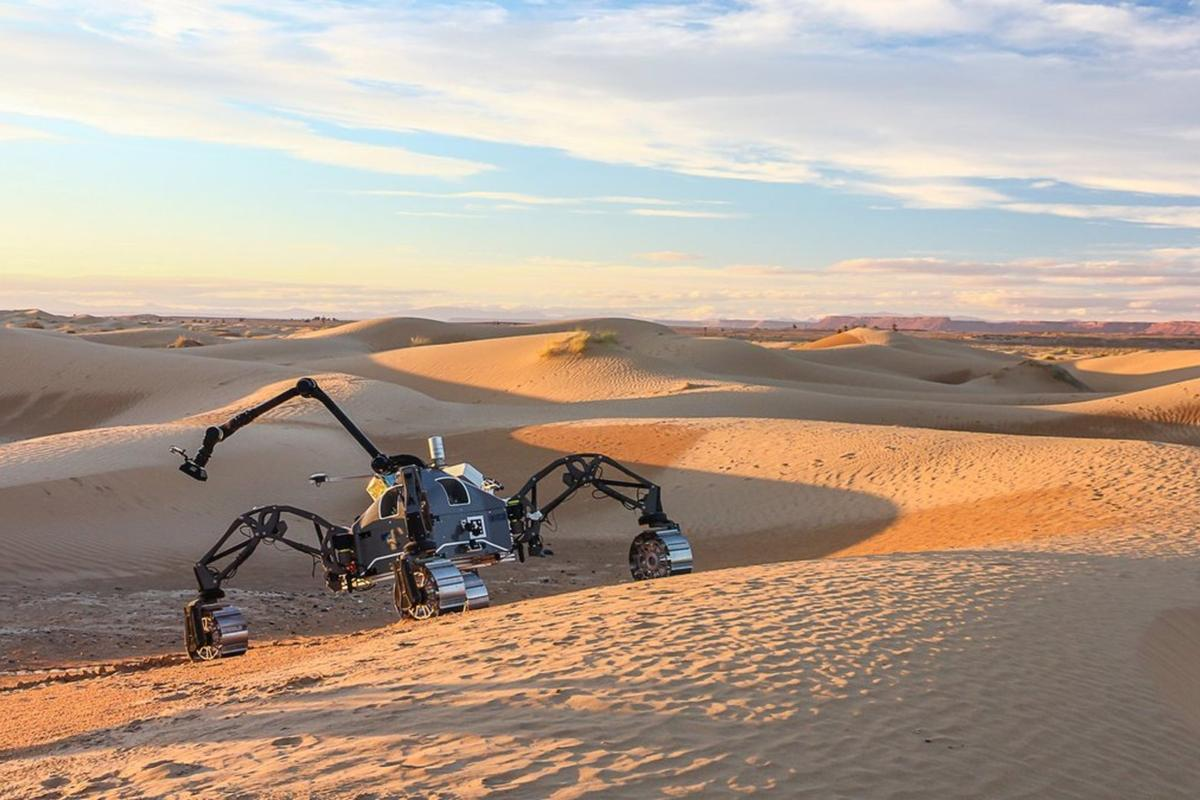 Morocco was used as the test ground for several experimental Mars rovers