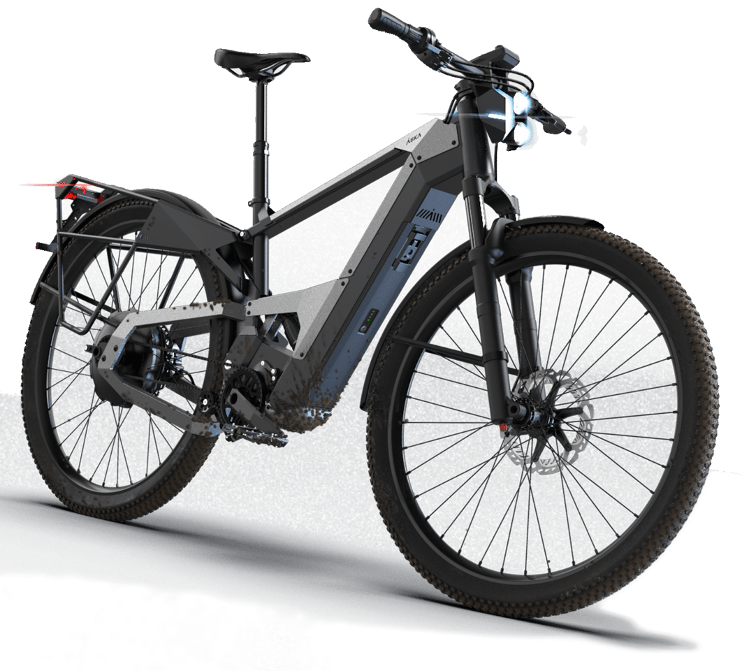 For daily commutes that involve more than just smooth pavement, Åska presents a burlier ebike
