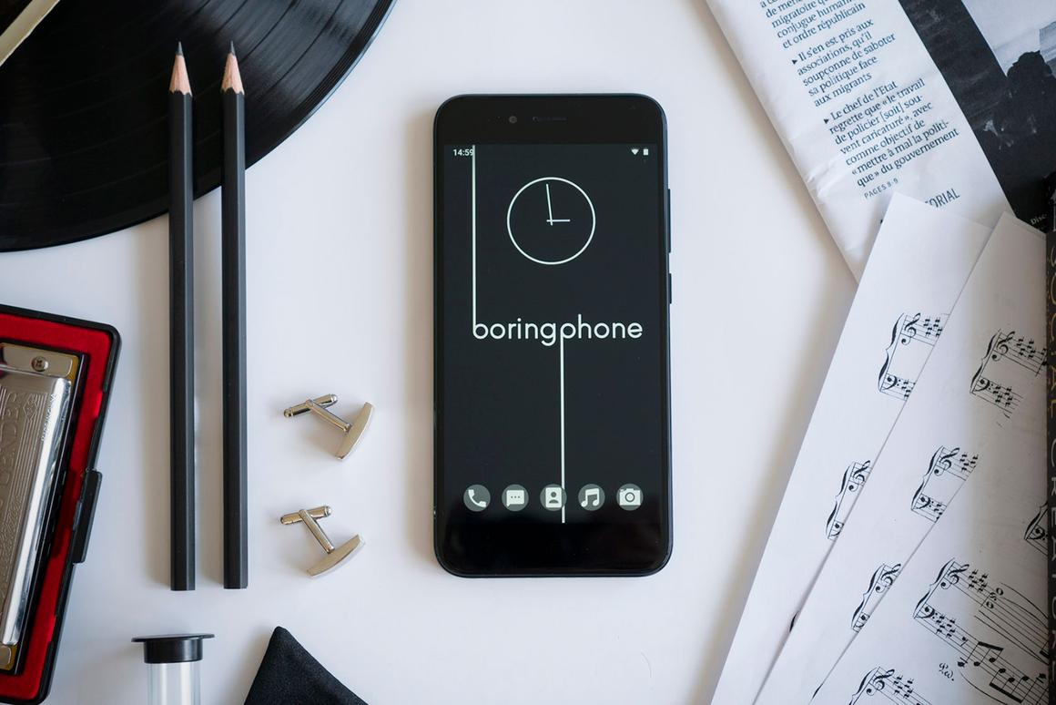 The BoringPhone puts a basic software package on top of a Xiaomi Android handset