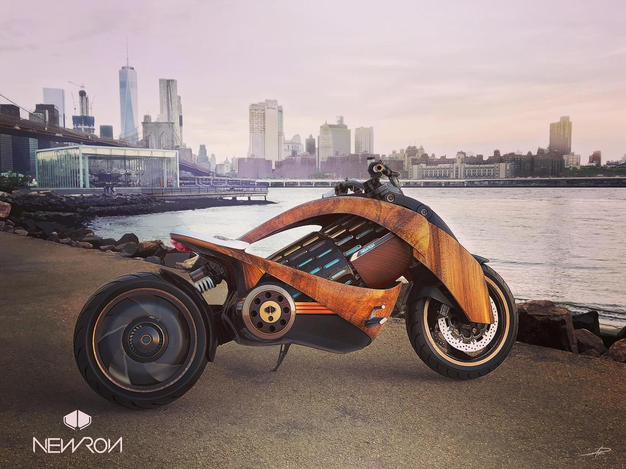 Having been through accelerator programs by Dassault Systems and Advans in France, Newron is hoping to build 12 of these eye-catching electric motorcycles in 2020