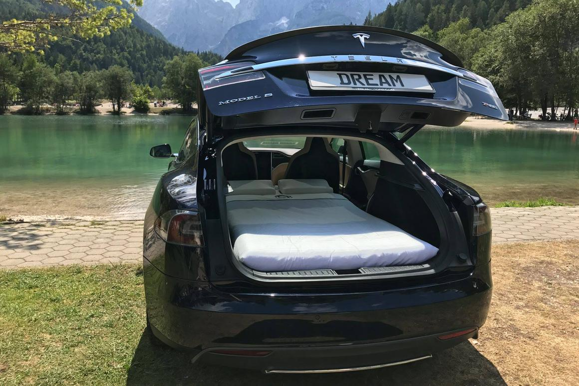 Cutting out noise and emissions in a pristine environment with a Dreamcase-outfitted Tesla Model S