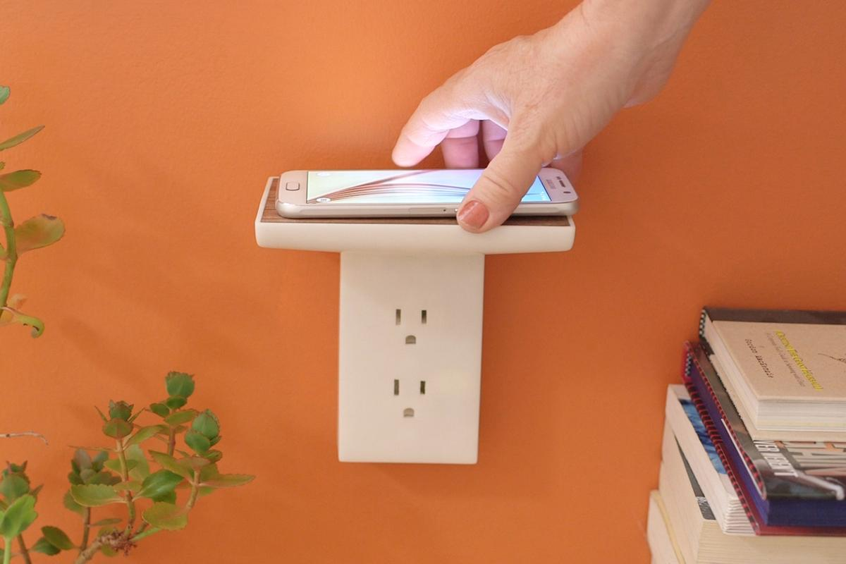 The WallJax EZ and Float are seamless and simple wireless charging solutions