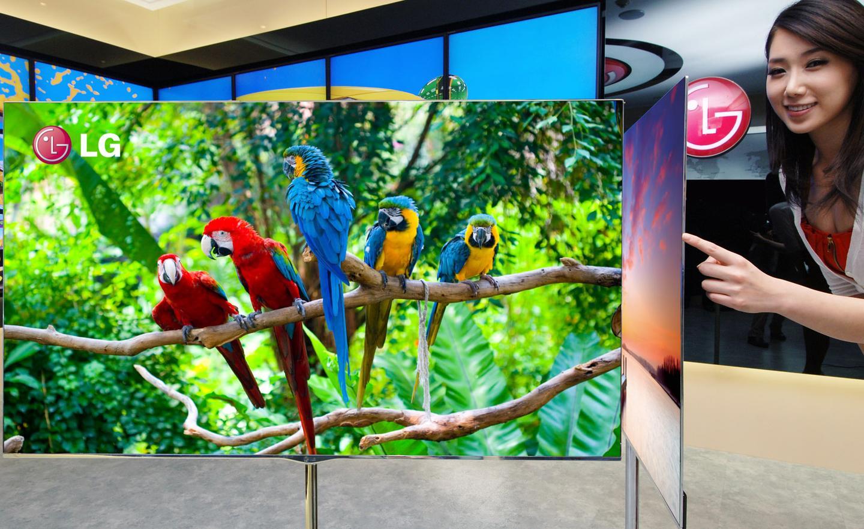 LG's 55-inch OLED TV