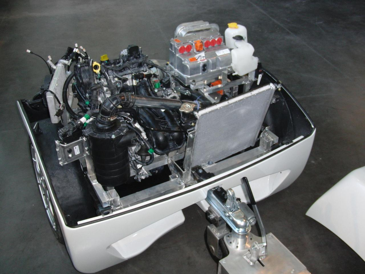 The EP Tender range-extender system is reported to increase vehicle range to 600 km (372 mi)