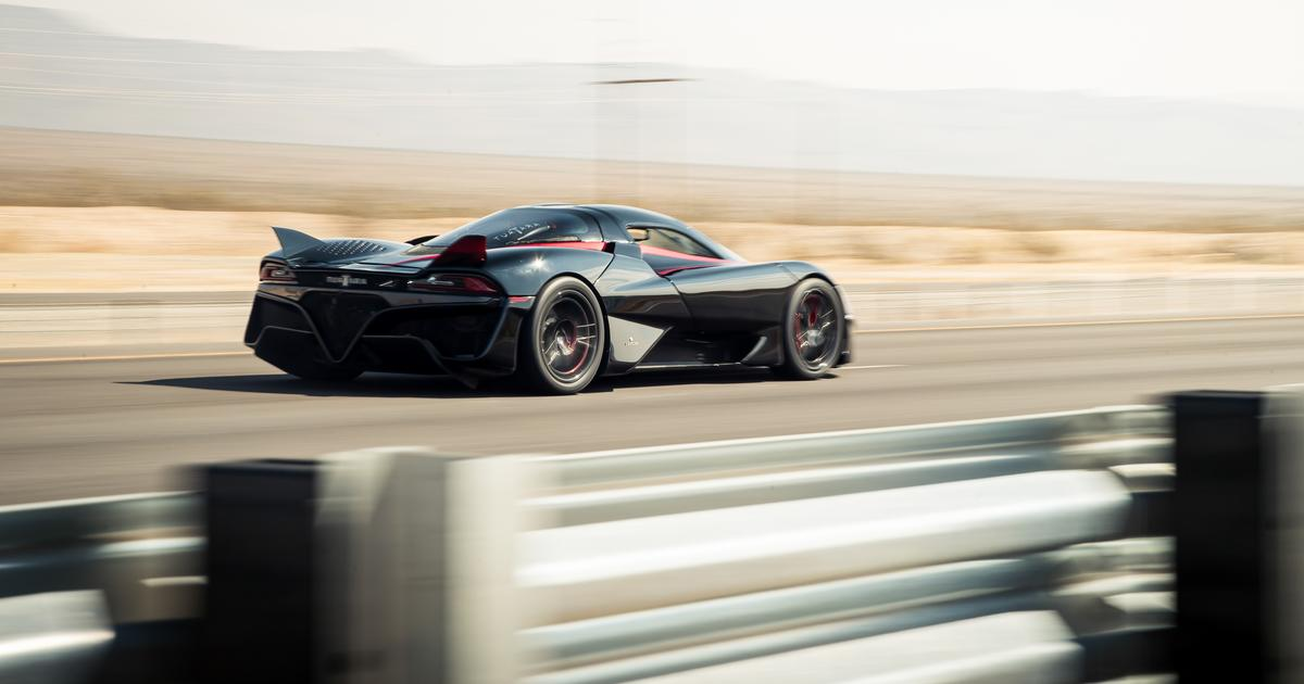 SSC Tuatara sets 316-mph record to become world's fastest production car