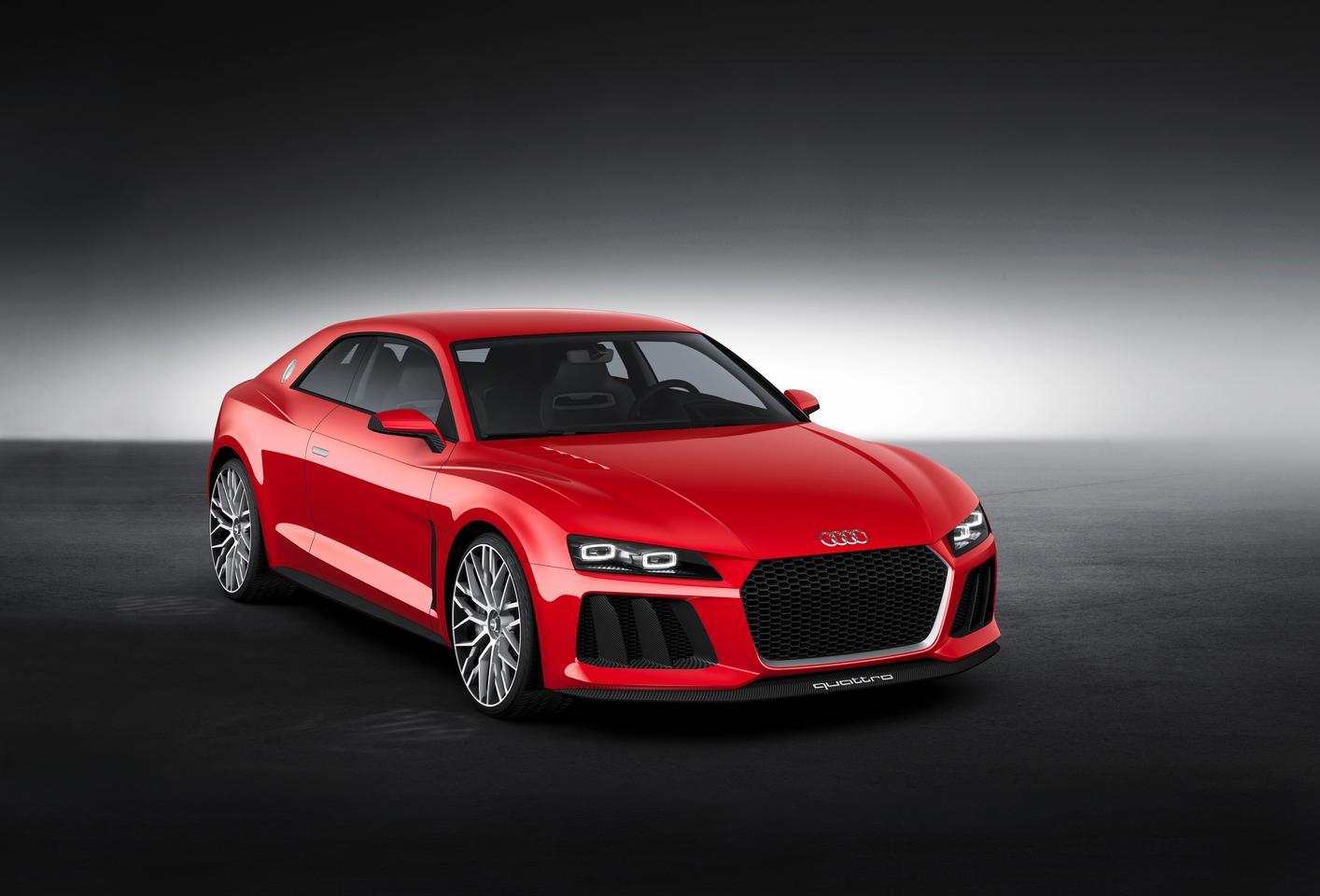 The Sport Quattro Laserlight concept showcases Audi's new design vocabulary
