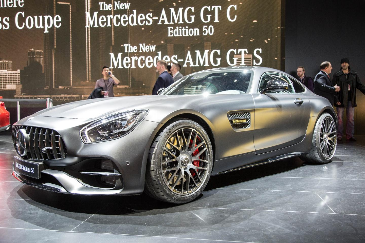 The AMGGTCEdition 50 is a birthday present to celebrate 50 years of tuning inAffalterbach