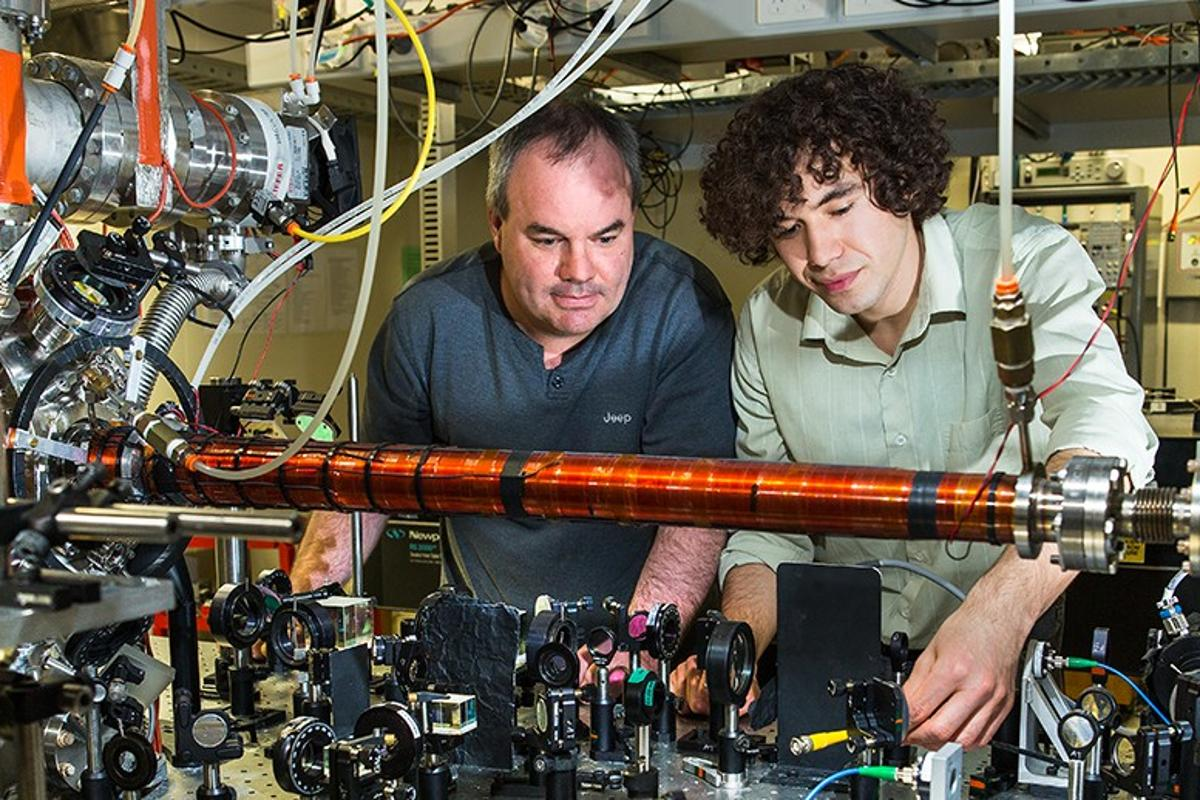 A recent experiment by researchers at ANU into the quantum behavior of particles seems to suggest that reality appears not to exist until it is actually measured