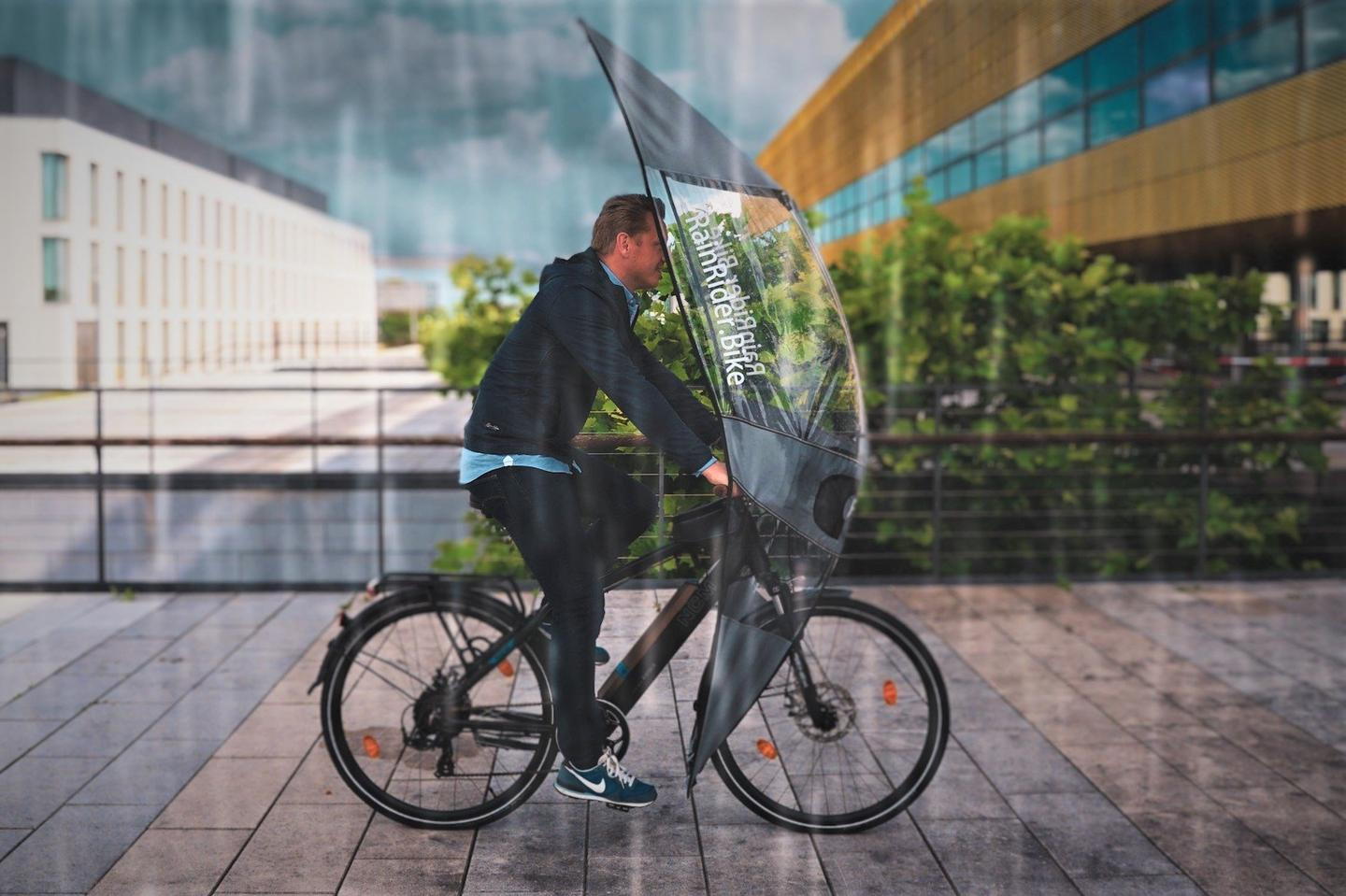 The Softtop is claimed to be compatible with almost all traditional upright-style bicycles