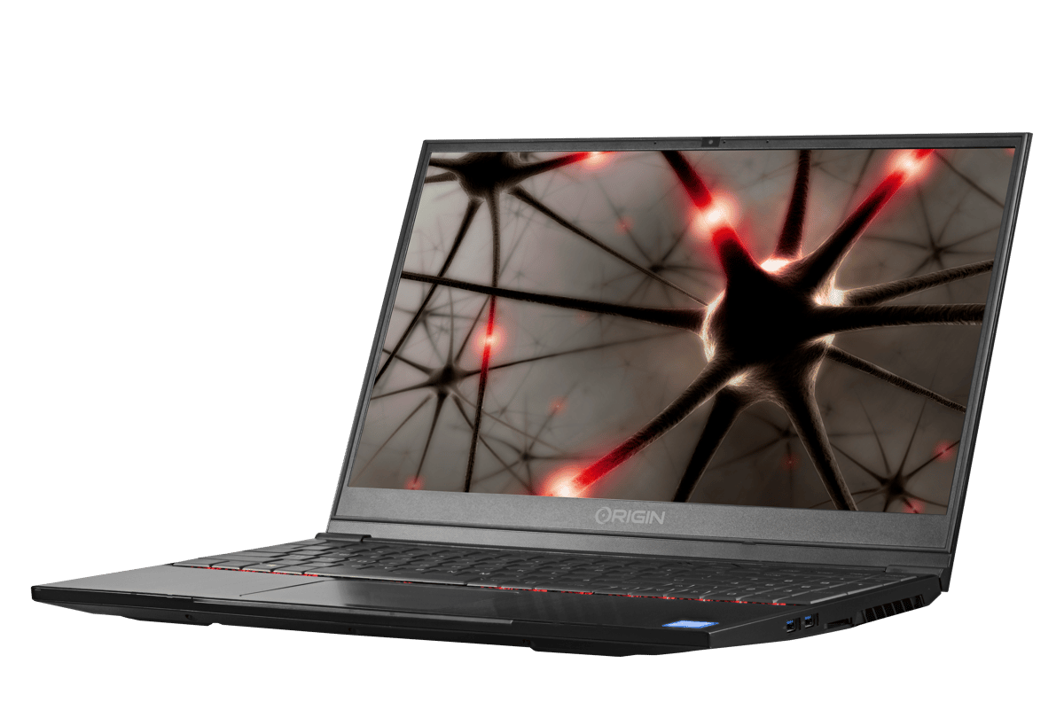 The EON15-S is billed as Origin's thinnest and lightest Core i9laptop, but launches with a Core-i7 processor only