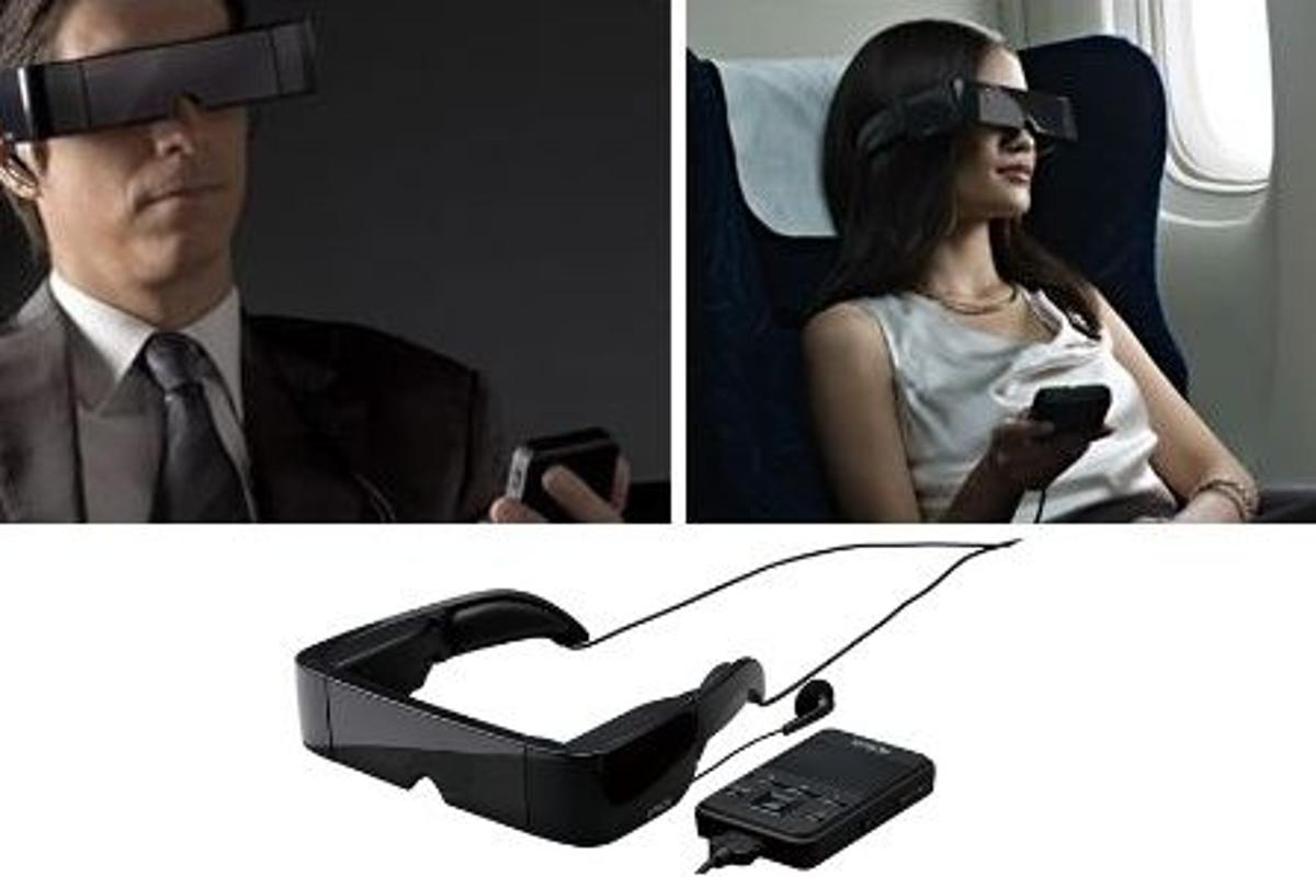 Epson has unveiled its Moverio transparent head-mounted display, running the Android 2.2 operating system