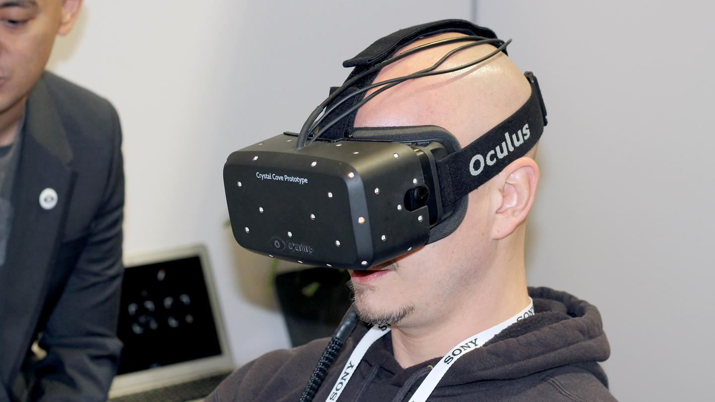 Gizmag goes heads-on with the new Crystal Cove prototype of the Oculus Rift virtual reality headset
