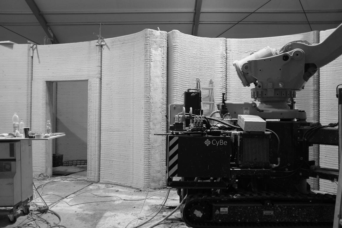 3D Housing 05 was conceivedto demonstrate3D printing architecture's efficacy