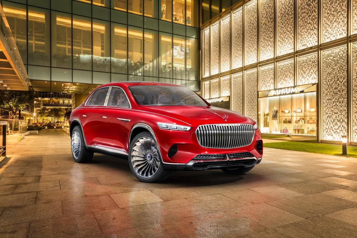 Although the designer of the Maybach-branded crossover may be incorrect in assuming it's a first, he is correct in claiming it's a very compelling, beautiful luxury design