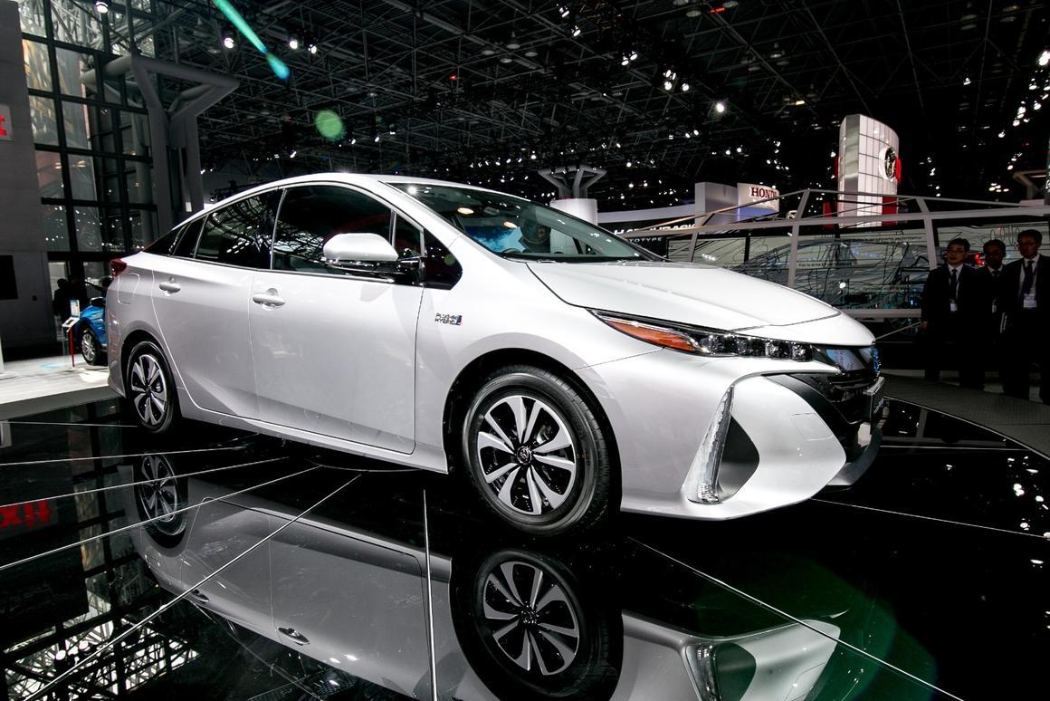 The Prius Prime will go head to head with Hyundai's Ioniq Plug-In