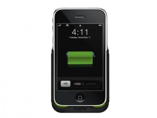 The Mobie Juice Pack for iPhone 3G.