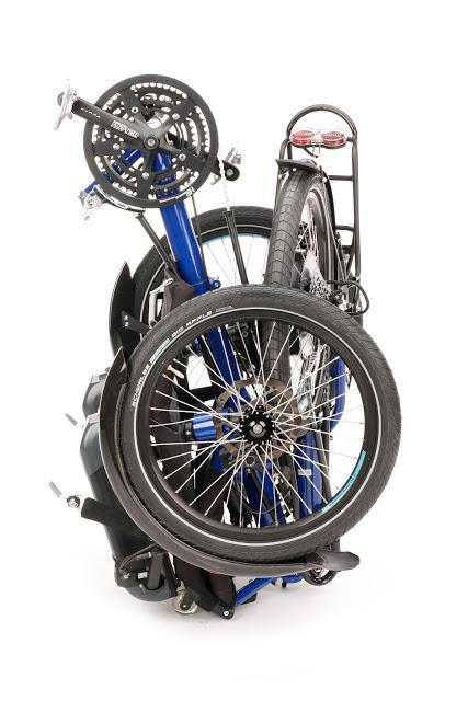 HP Velotechnik trikes fold for easy transport