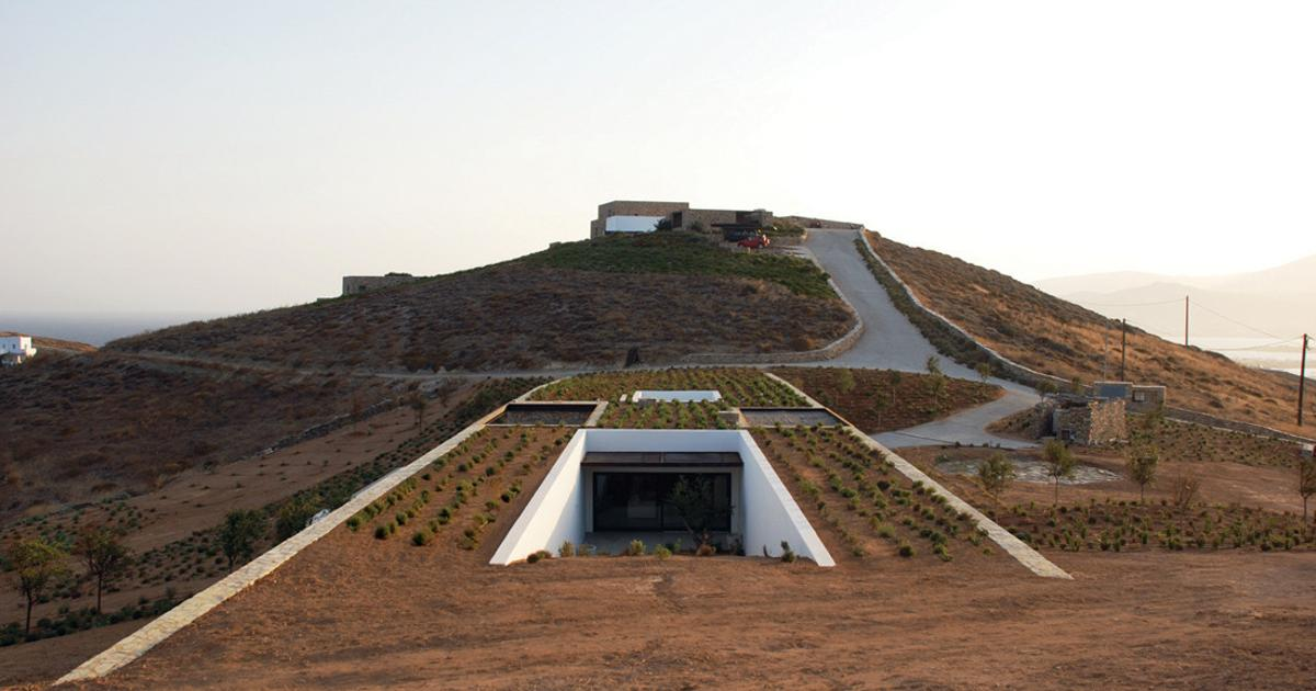 Gallery: From buried bunkers to hobbit homes - a look at underground living