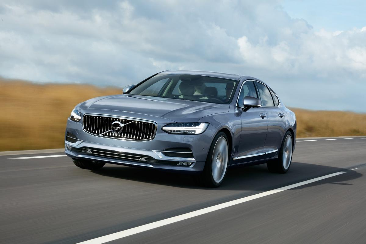 From the outside, there's no mistaking the S90 sedan for anything but a Volvo