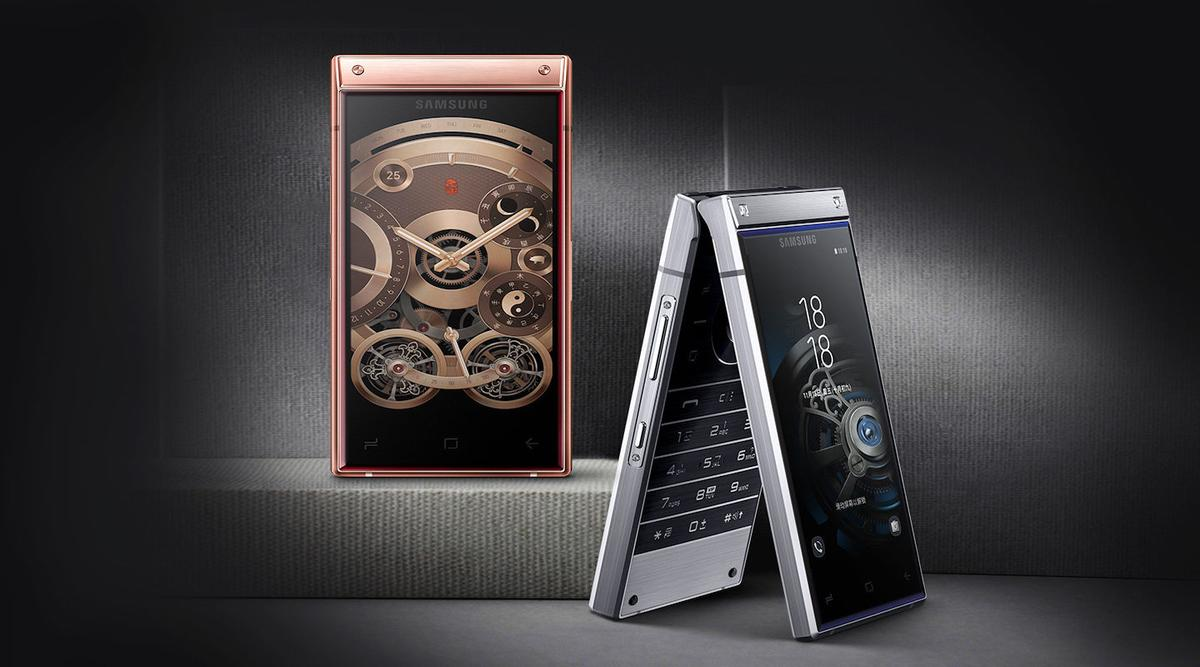 Samsung China has unveiled the W2019, a high-end flip phone