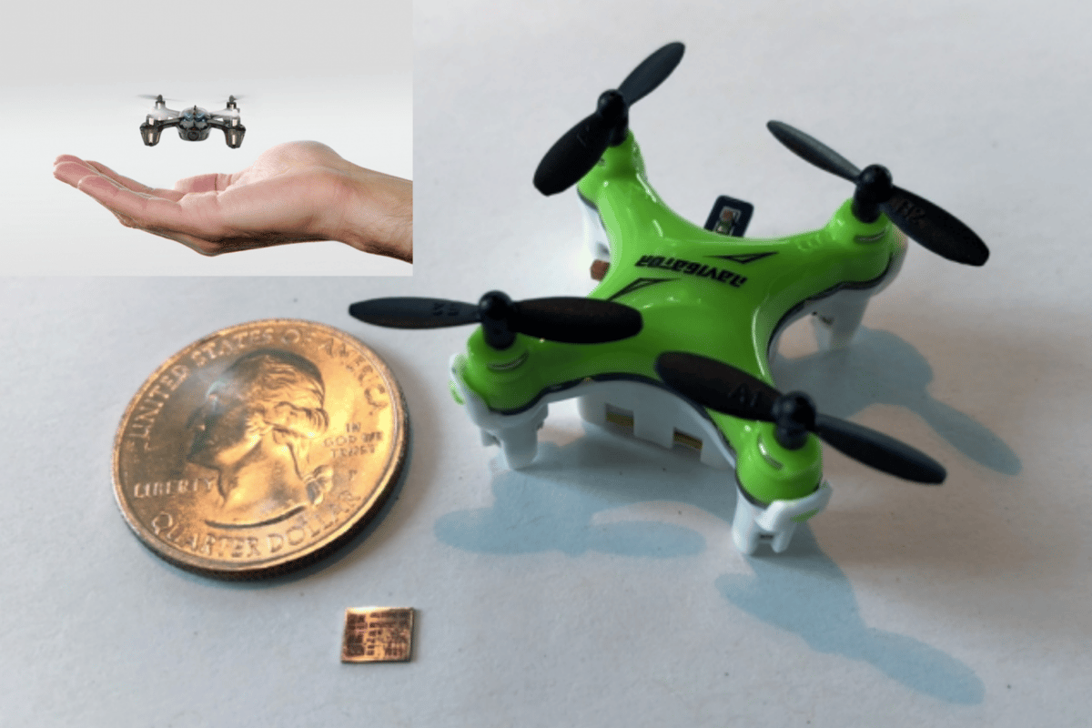MIT's latest chip helps pave the way for insect-scale drones