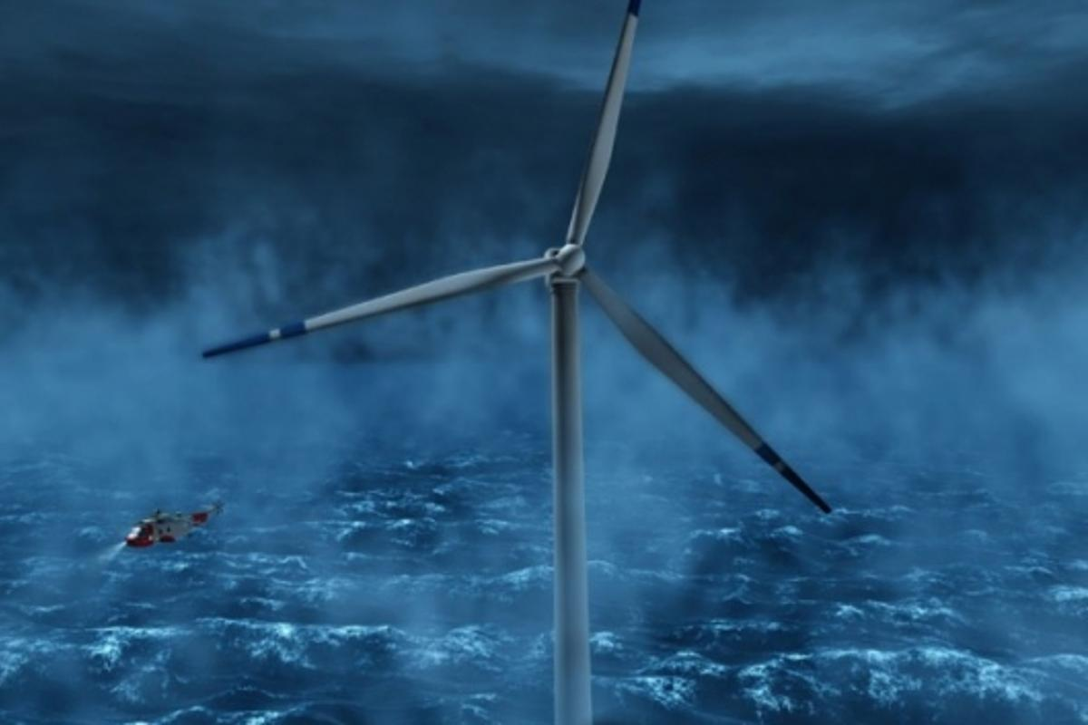 Plans unveiled for 2.3MW offshore floating wind turbinePhoto: StatoilHydro