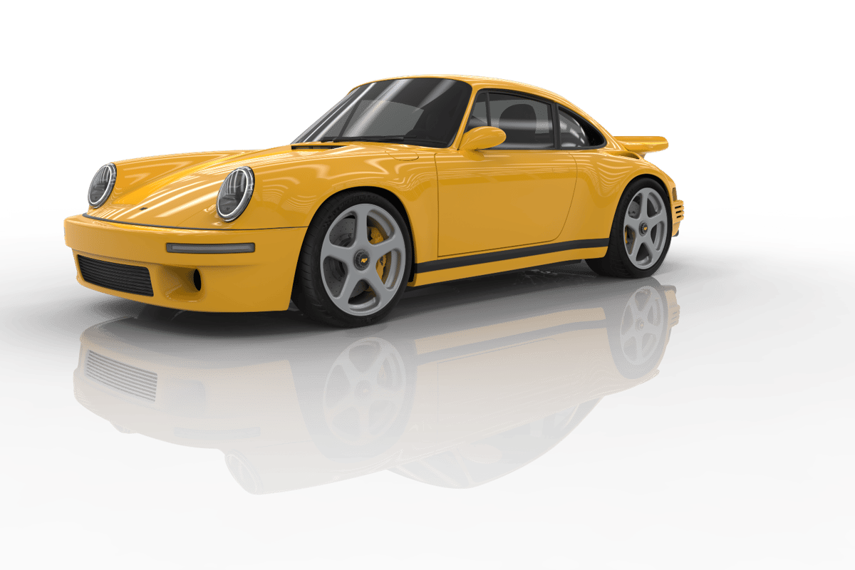 The RUF CTR Yellow Bird, which was launched in Geneva