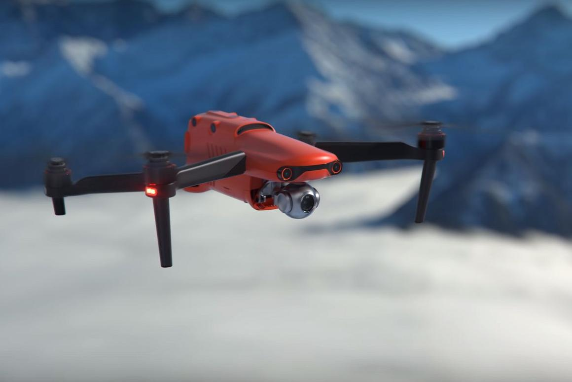The Evo II camera drone is reported to be in production, but not yet available for sale