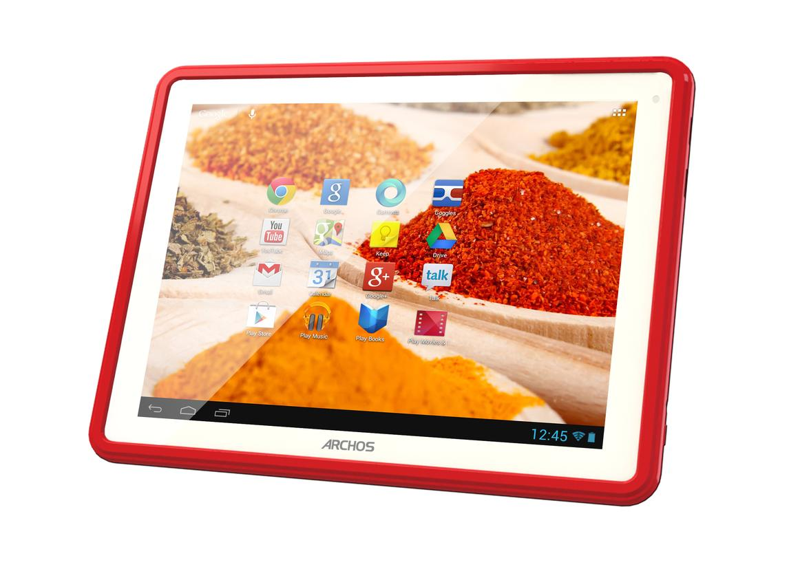 The ChefPad runs Android 4.1 on a 1.6 GHz dual-core processor along with a quad-core GPU and 1GB of RAM