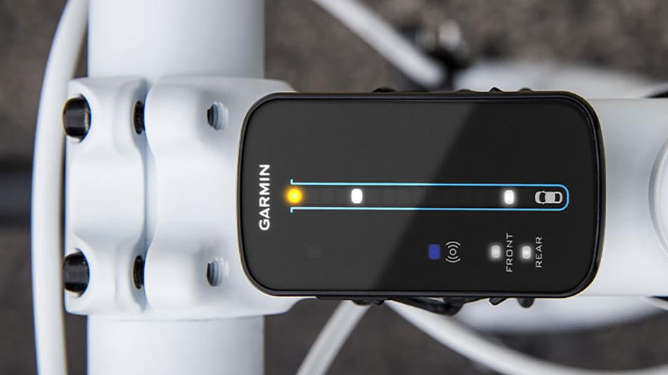 Garmin's Varia bike radar warns cyclists when cars are approaching from behind