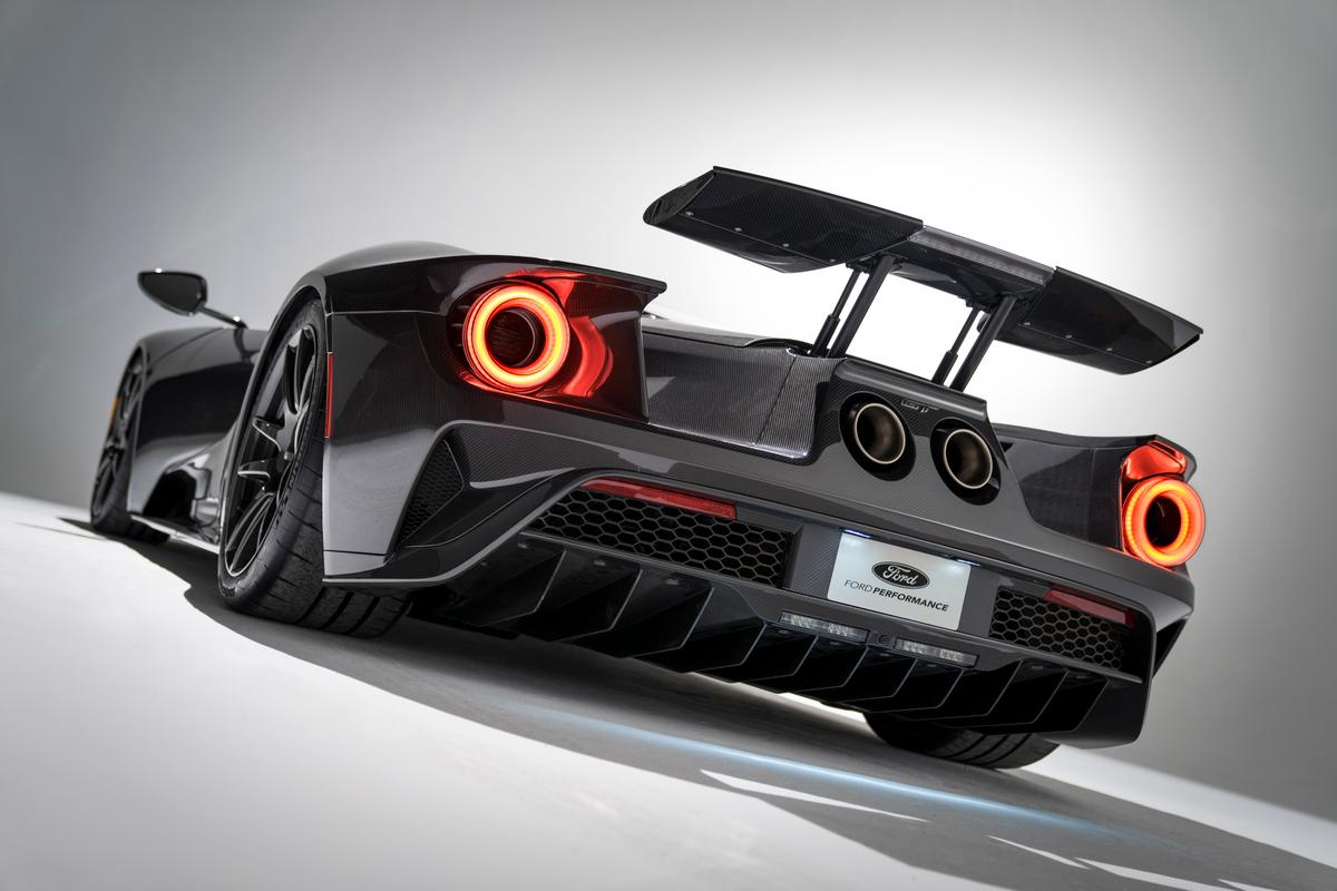 The 2020 model upgrade for Ford's monster GT supercar brings 660 horsepower and a standard Akrapovic exhaust