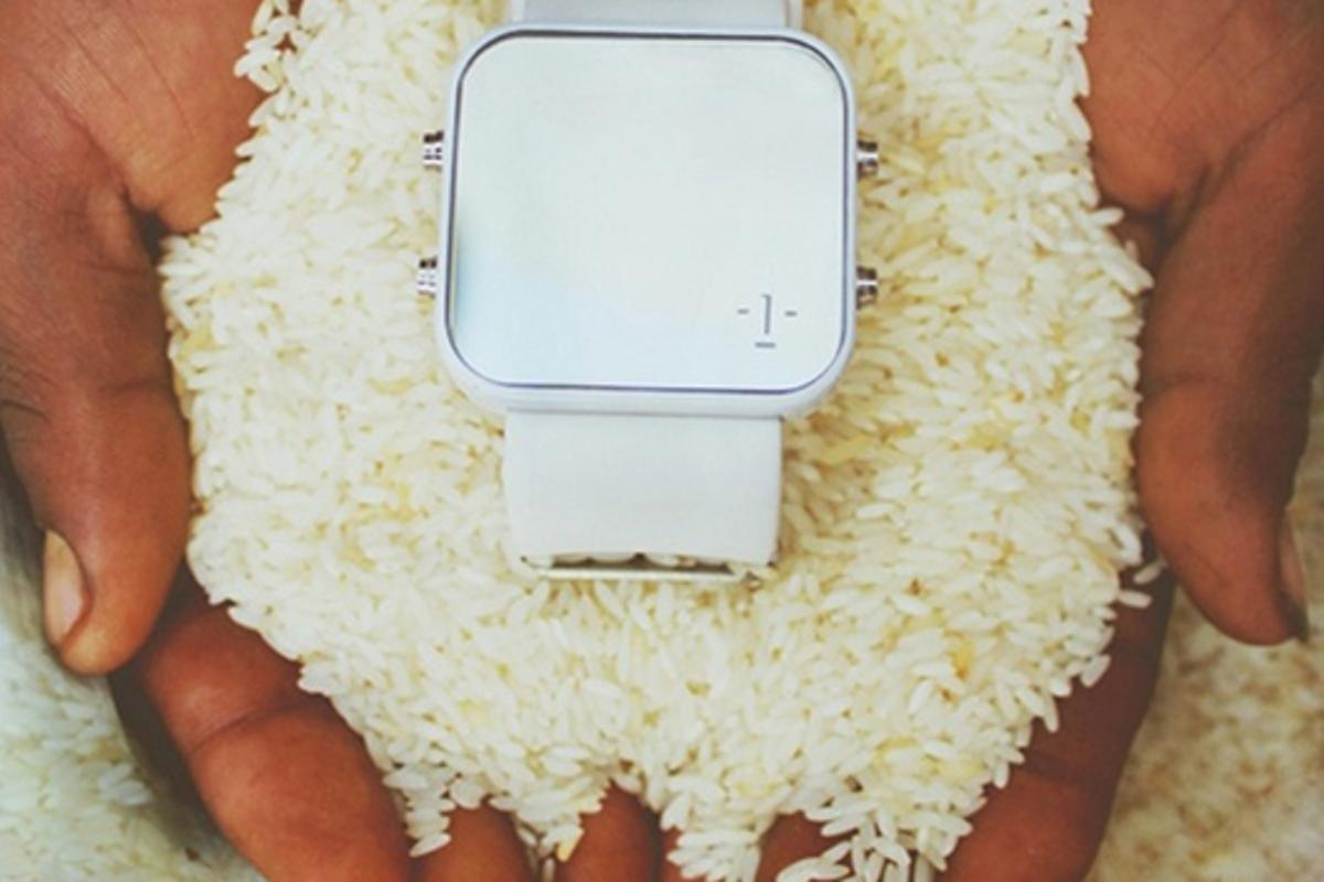 The 1:Face Watch looks stylish and helps support a good cause