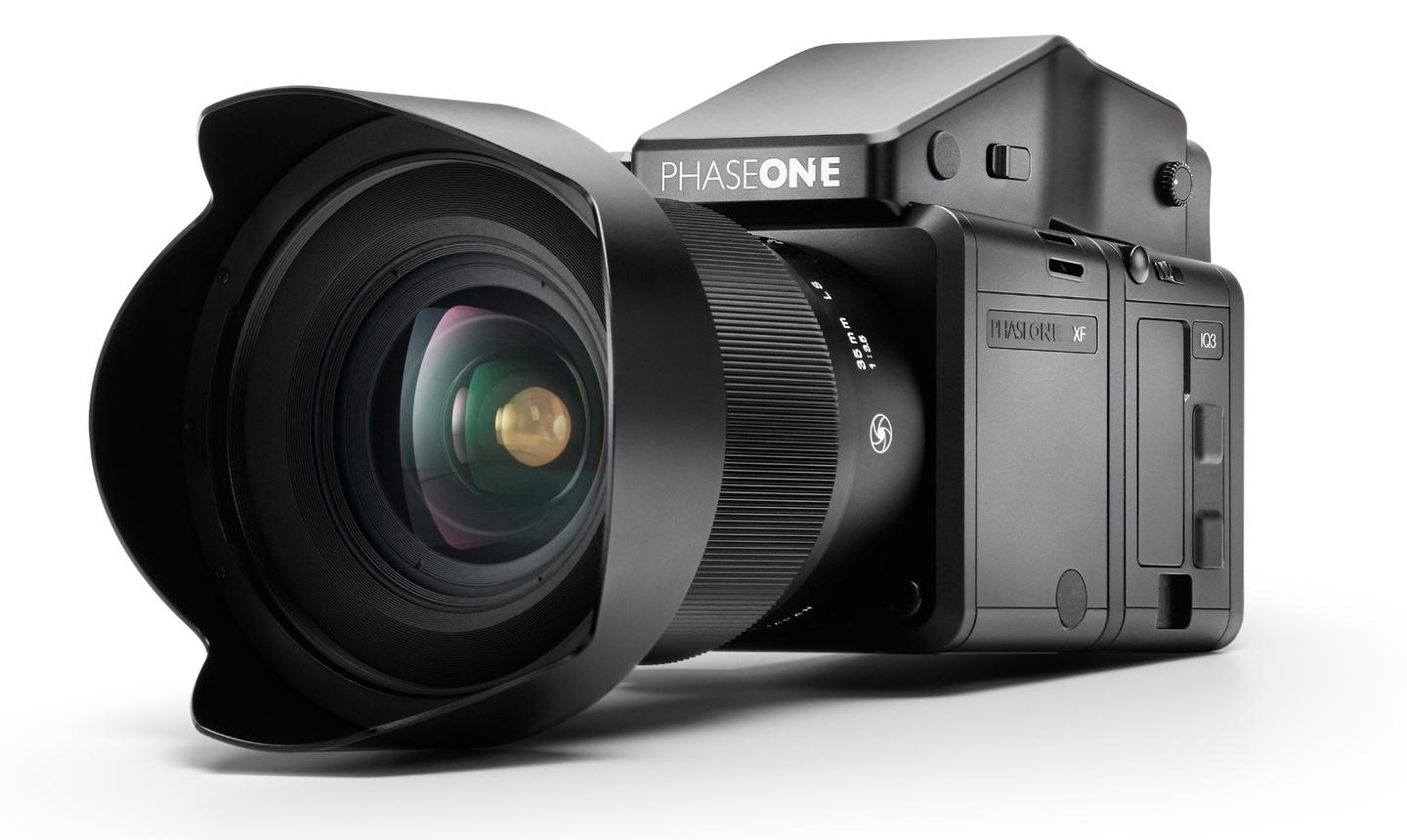 The Phase One XF features a new autofocus platform, an upgradable OS, and resolutions up to 80-megapixels