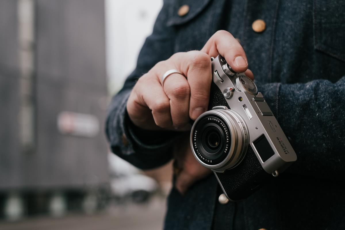 "The X100V is the latest ""iconic, portable, and fun"" camera from Fujifilm"