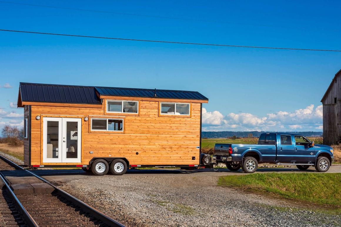 Canadian tiny house builders, Mint Tiny House Company has recently released its 22-ft (6.7-m) and 26-ft (7.6-m) tiny houses on wheels editions