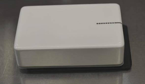 The prototype AdTrap unit