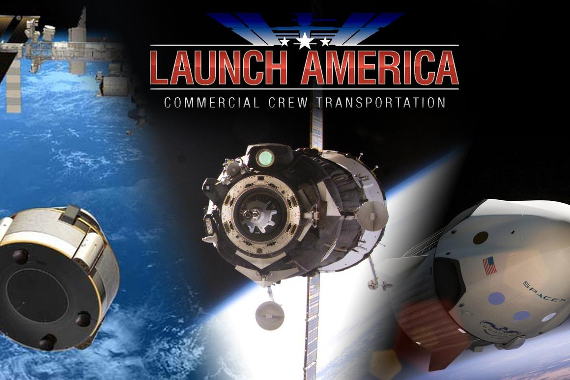 The awarding of NASA's most recent Commercial Crew Program contract will see an end to America's reliance on the Russian Soyuz spacecraft (Image: NASA/SpaceX/Boeing)