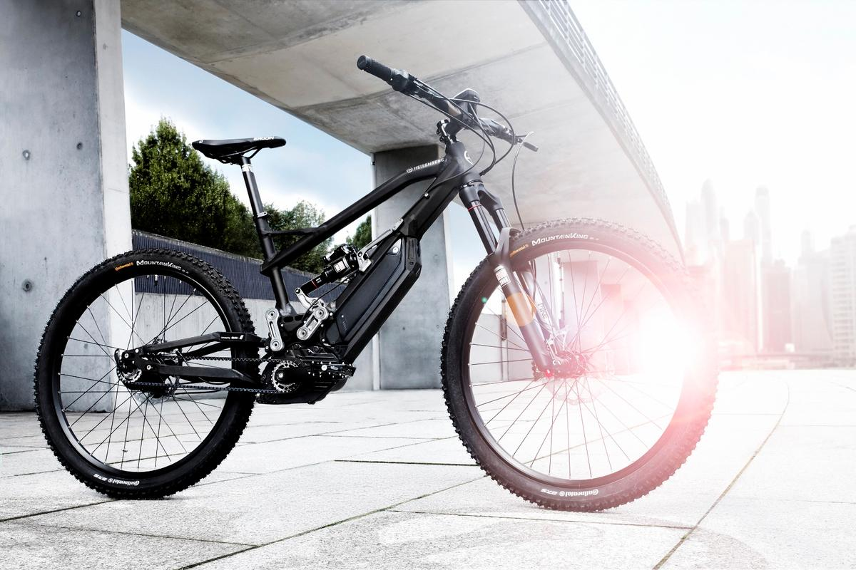The all-new HNF Heisenberg XF1 full-suspension e-mountain bike
