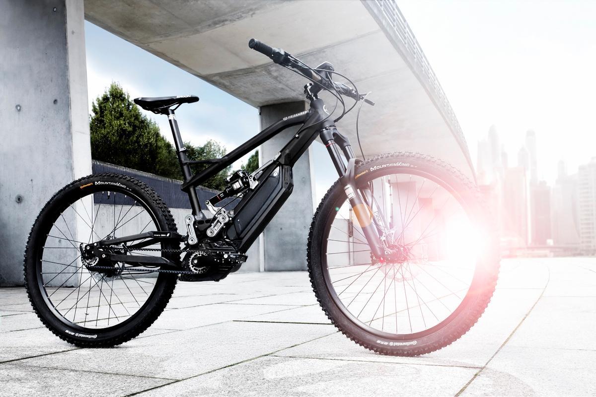 The all-new HNF Heisenberg XF1 full-suspension e-mountain bike