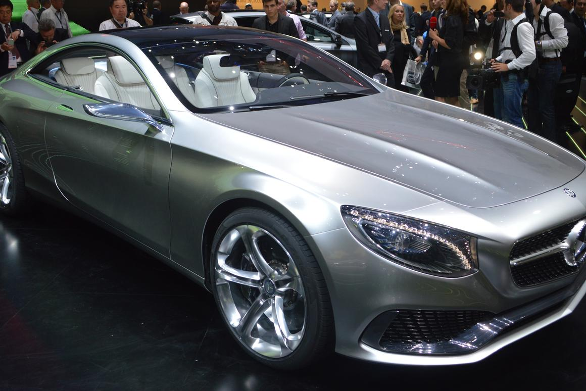 The Concept S-Class Coupé outlines Mercedes' vision for the future of its flagship model (Photo: Gizmag.com)