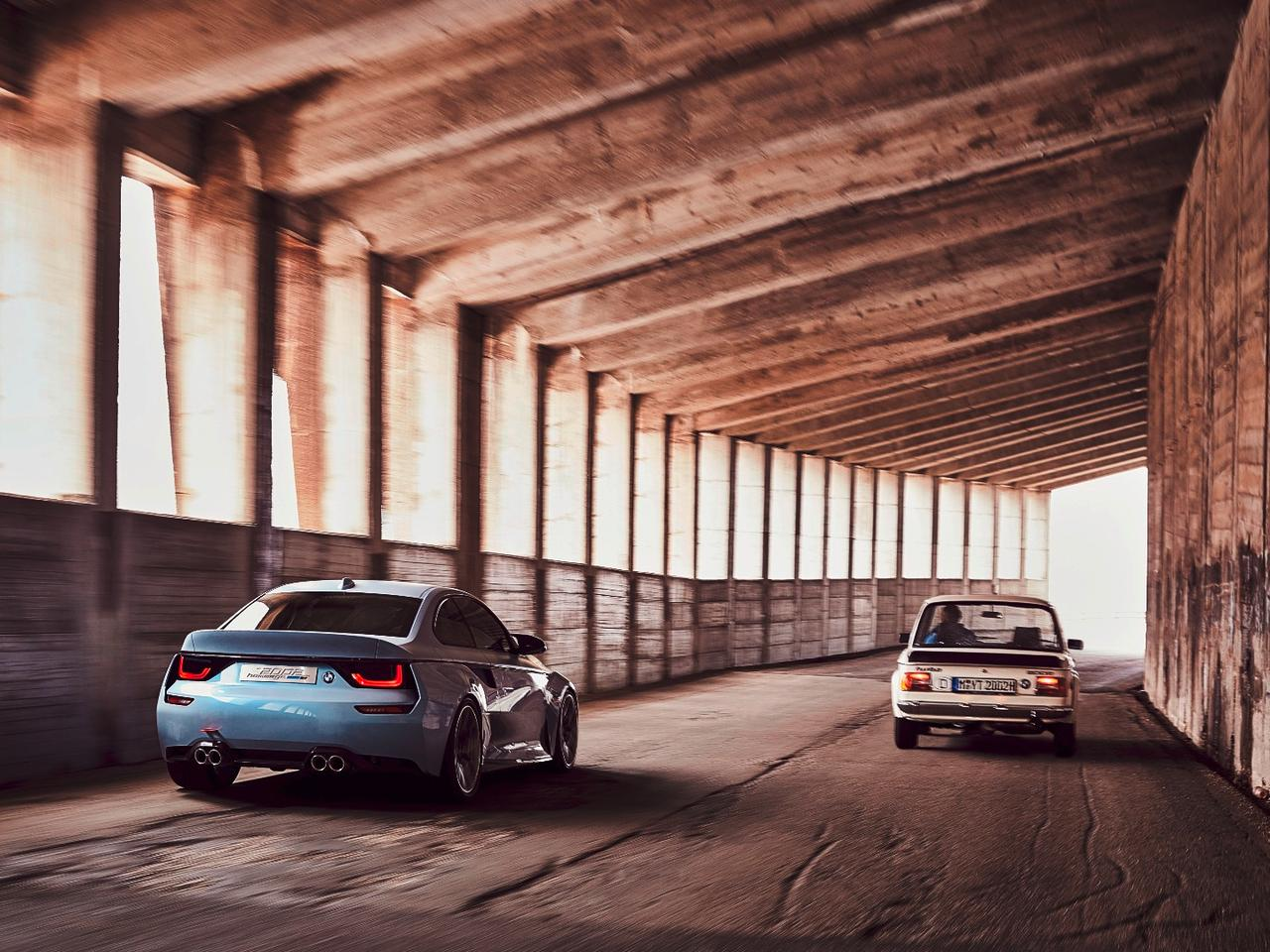 BMW throws back to the 2002 with latest Hommage