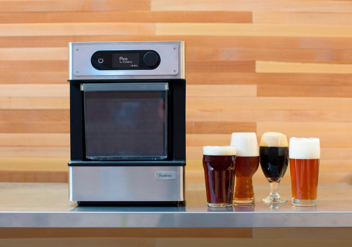 The PicoBrew Pico is aimed at the inexperienced home brewer
