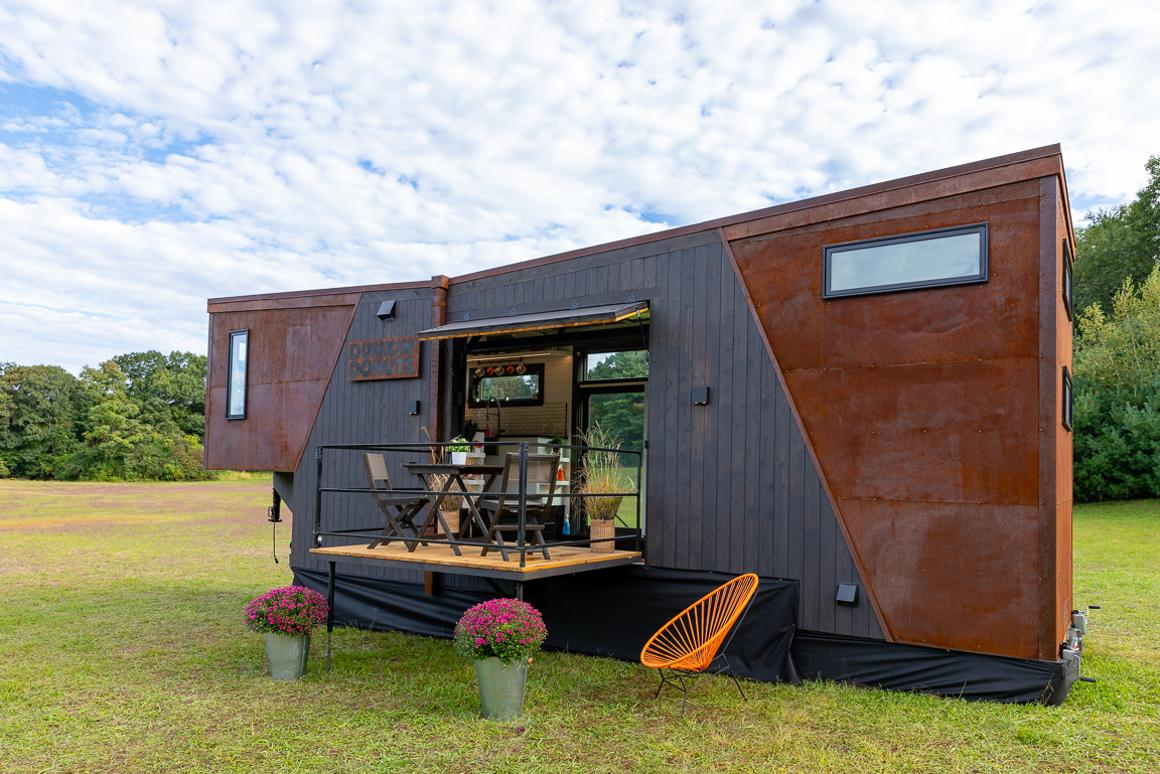 The Home That Runs on Dunkin' runs on biofuel created from coffee grounds